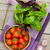 agriculteur · tomates · organique · panier · légumes · jardin - photo stock © karandaev