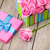 valentines day gift box full of pink roses stock photo © karandaev