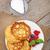 pancakes with raspberry blueberry and milk stock photo © karandaev