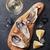 istiridye · şarap · buz · limon · beyaz · şarap - stok fotoğraf © karandaev