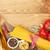 spagetti · tészta · olasz · tészta · paradicsomok · textúra - stock fotó © karandaev