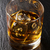 glas · rum · donkere · achtergrond · ijs · tabel - stockfoto © karandaev