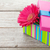purple gerbera flower in gift box stock photo © karandaev