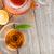 friss · zöld · tea · üveg · edény · vízszintes · fotó - stock fotó © karandaev