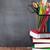school and office supplies on classroom table stock photo © karandaev
