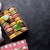 カラフル · ボックス · マシュマロ · 木製のテーブル · 甘い · マカロン - ストックフォト © karandaev