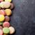 красочный · каменные · таблице · Sweet · macarons · Top - Сток-фото © karandaev