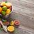 fresh citrus fruits in colander stock photo © karandaev