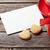 kırmızı · kahve · fincanı · kalp · kurabiye · hediye · kutusu - stok fotoğraf © karandaev
