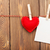 photo frame and valentines toy heart stock photo © karandaev