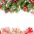 natal · bola · árvore · caixas · de · presente · branco · vermelho - foto stock © karandaev