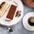 ティラミス · デザート · コーヒー · 木製のテーブル · 食品 · ケーキ - ストックフォト © karandaev