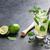 mojito · cocktail · donkere · steen · tabel · exemplaar · ruimte - stockfoto © karandaev