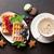 koffie · snoep · voedsel · chocolade · achtergrond · snoep - stockfoto © karandaev