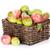 appels · peren · houten · tafel · najaar · bokeh · boom - stockfoto © karandaev