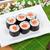 sushi · maki · conjunto · fresco · sakura · ramo - foto stock © karandaev