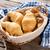 fresh croissants basket stock photo © karandaev
