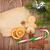 украшение · оранжевый · корицей · ель · филиала - Сток-фото © karandaev