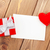 brinquedo · de · madeira · coração · colorido · miçanga · forma · branco - foto stock © karandaev