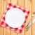 üres · tányér · ezüst · étkészlet · fehér · fa · asztal · felülnézet - stock fotó © karandaev