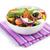tál · zöldségek · izolált · fehér · fotó · hozzávalók - stock fotó © karandaev