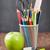 iskola · irodaszerek · osztályterem · asztal · iskolatábla · fa - stock fotó © karandaev