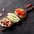 тоста · Бутерброды · авокадо · помидоров · оливками · каменные - Сток-фото © karandaev