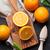 portakal · olgun · turuncu · yeşil · yaprak · meyve - stok fotoğraf © karandaev