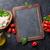 mozzarella · peynir · domates · fesleğen · ot · yaprakları - stok fotoğraf © karandaev