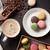 caffè · cookies · messa · a · fuoco · selettiva · fronte · cookie · cioccolato - foto d'archivio © karandaev