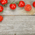 cherry tomatoes on wooden table stock photo © karandaev