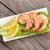 saláta · tányér · kés · szín · citrom · villa - stock fotó © karandaev