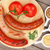 gegrild · worstjes · tomaten - stockfoto © karandaev