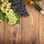 виноград · деревянный · стол · копия · пространства · вино - Сток-фото © karandaev