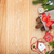 karácsony · fenyőfa · dekoráció · rusztikus · fa · deszka · copy · space - stock fotó © karandaev
