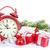 Рождества · будильник · филиала · покрытый - Сток-фото © karandaev