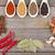 specerijen · kruiden · houten · kom · kommen · voedsel - stockfoto © karandaev