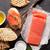 sandwich with salmon stock photo © karandaev