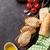 完全菜食主義者の · サンドイッチ · 肉 · 鶏 · トルコ · 豆腐 - ストックフォト © karandaev