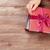 opening · christmas · geschenken · mooie · vrouw · genieten - stockfoto © karandaev