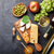 vino · de · uva · queso · miel · vino · blanco · placa - foto stock © karandaev