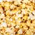 popcorn · hoop · geïsoleerd · witte · textuur · voedsel - stockfoto © karandaev