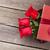 red roses in valentines day gift box stock photo © karandaev