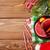 Navidad · vino · ingredientes · superior · vista · árbol - foto stock © karandaev