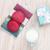 rózsaszín · macaronok · tej · színes · csésze · extrém - stock fotó © karandaev