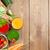 friss · zöldség · smoothie · paradicsom · uborka · sárgarépa · fa · asztal - stock fotó © karandaev