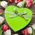 colorful tulips and gift box stock photo © karandaev