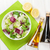 vers · gezonde · salade · witte · houten · tafel - stockfoto © karandaev
