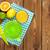 fruits · verre · jus · oranges · citrons - photo stock © karandaev