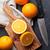oranje · blad · steen · esdoornblad · stream - stockfoto © karandaev